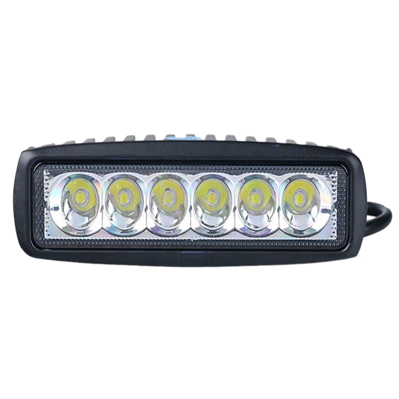 2 x 18W 6 FLOOD C r e e Led Bar Work Light Boat Car Truck Lamp SUV UTE ATV offroad ...