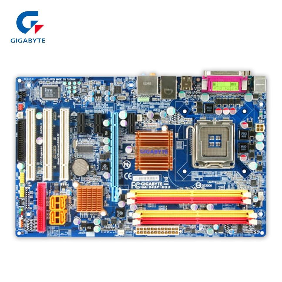 Gigabyte GA-945P-DS3 Desktop Motherboard 945P-DS3 945P LGA 775 DDR2 ATX