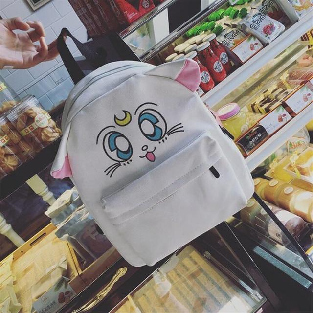 Аниме рюкзак с ушками Сейлор Мун 1