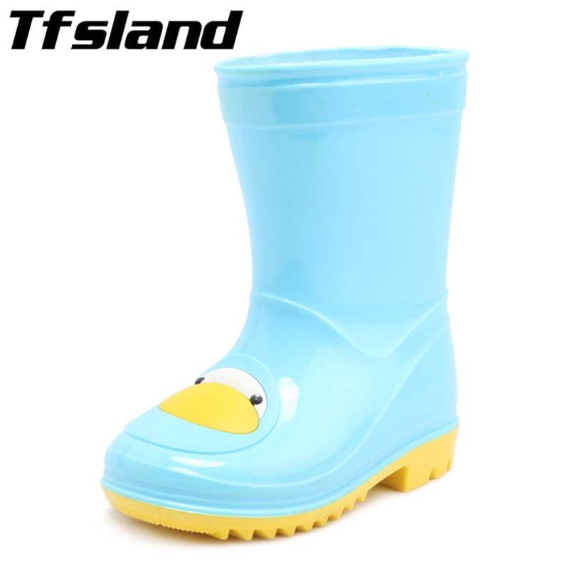 New Children Candy Cartoon Rubber Rain Boots Boys Girls Soft Baby Antiskid Toddler Boots Waterproof Sports Shoes Kids' Sneakers lovely toddler first walkers baby boys and girls cotton shoes soft bottom hook sneakers i love mom dad