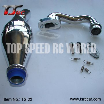 NEW!Exhaust Pipe/Tuned Pipe for 1/5th RC Gas Model Car/for 1/5 RC Truck,FG TRUCK,FG Big Monster , Free shipping!! 1 6 rc alloy rear differential set 86002 for fg monster hummer truck rovan big monster
