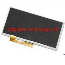 "Pantalla lcd de matriz de 7 ""prestigio multipad wize 3087 pmt3087 3g tablet 163*97mm panel de la pantalla lcd módulo de lente de reemplazo"