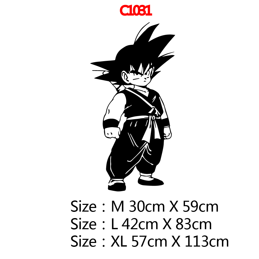 Beauty Dragon Ball Pvc Wall Decals Home Decor Home Decor Children House Wall Stickers Waterproof Wallpaper in Wall Stickers from Home Garden