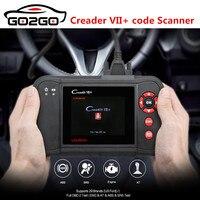 Горячие Оригинал Авто Code Reader Старт X431 Creader VII + Creader VII Плюс обновление через официальный сайт OBDII сканер же как CRP123