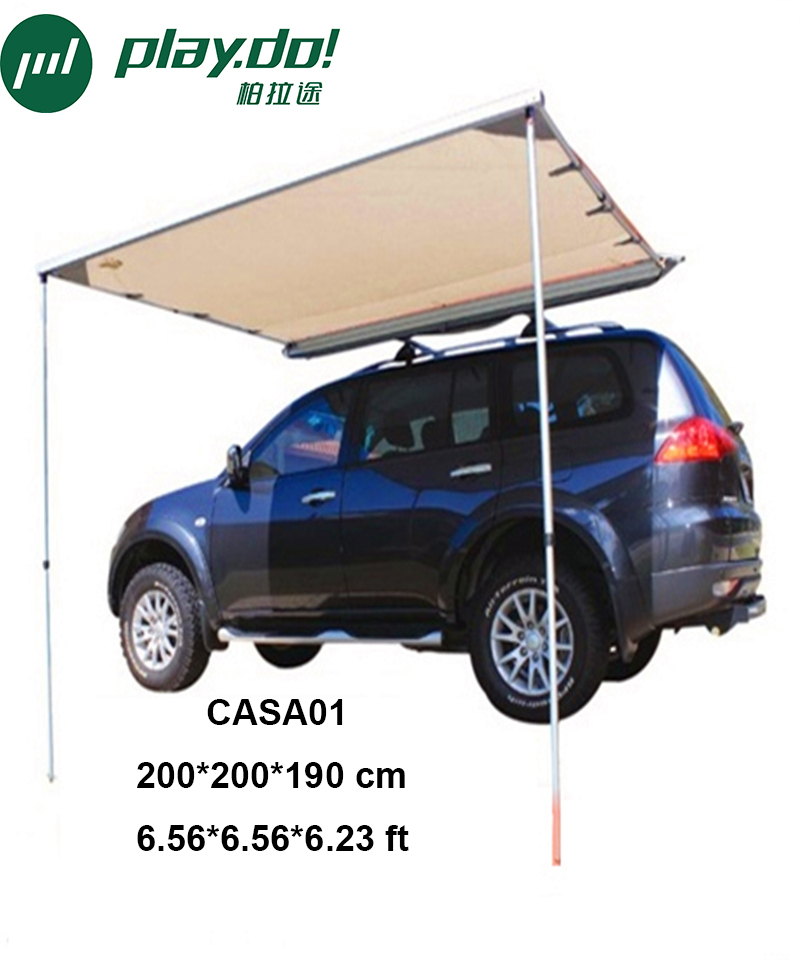 Playdo Car Roof Tent Awning 6 56x6 56x6 23ft 2x2x1 9m Toldo Side