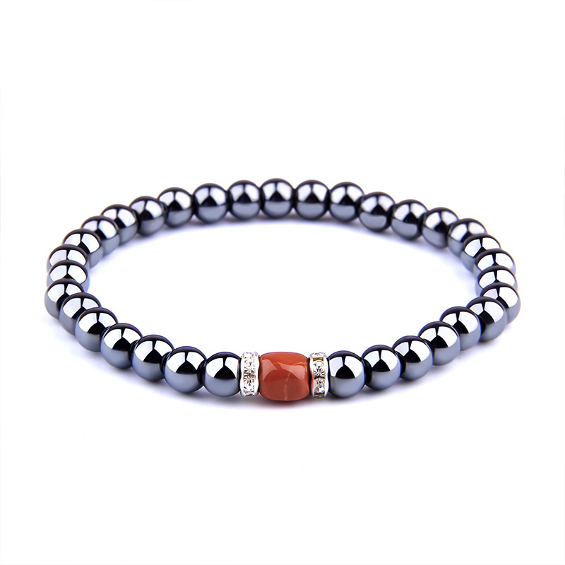women's men's bracelet Hematite Beads Bracelets stainless steel bracelet for women Men couples Friendship Bracelets gift for him