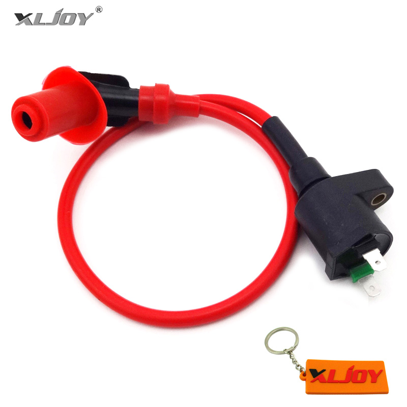 XLJOY Red Performance Racing Ignition Coil For XR100 XR200 XR250 XR100R XR200R XR250R Dirt Pit Bike Motorcycle Motocross