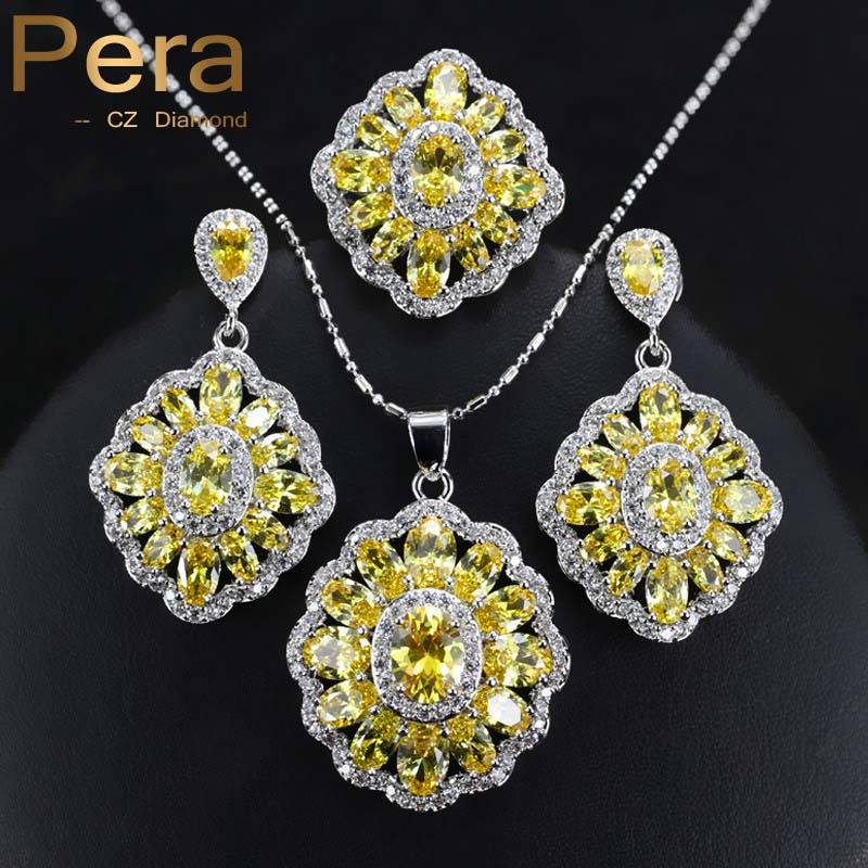 Pera Fashion Ladies 925 Sterling Silver Costume Jewelry ...