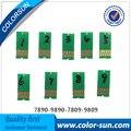 9 шт для Epson 7890 9890 7809 9809 совместимые чипы сброс чипов
