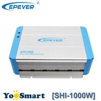 600 Вт EPever Чистая синусоида Инвертор 12VDC до 220VAC солнечный Мощность инвертор