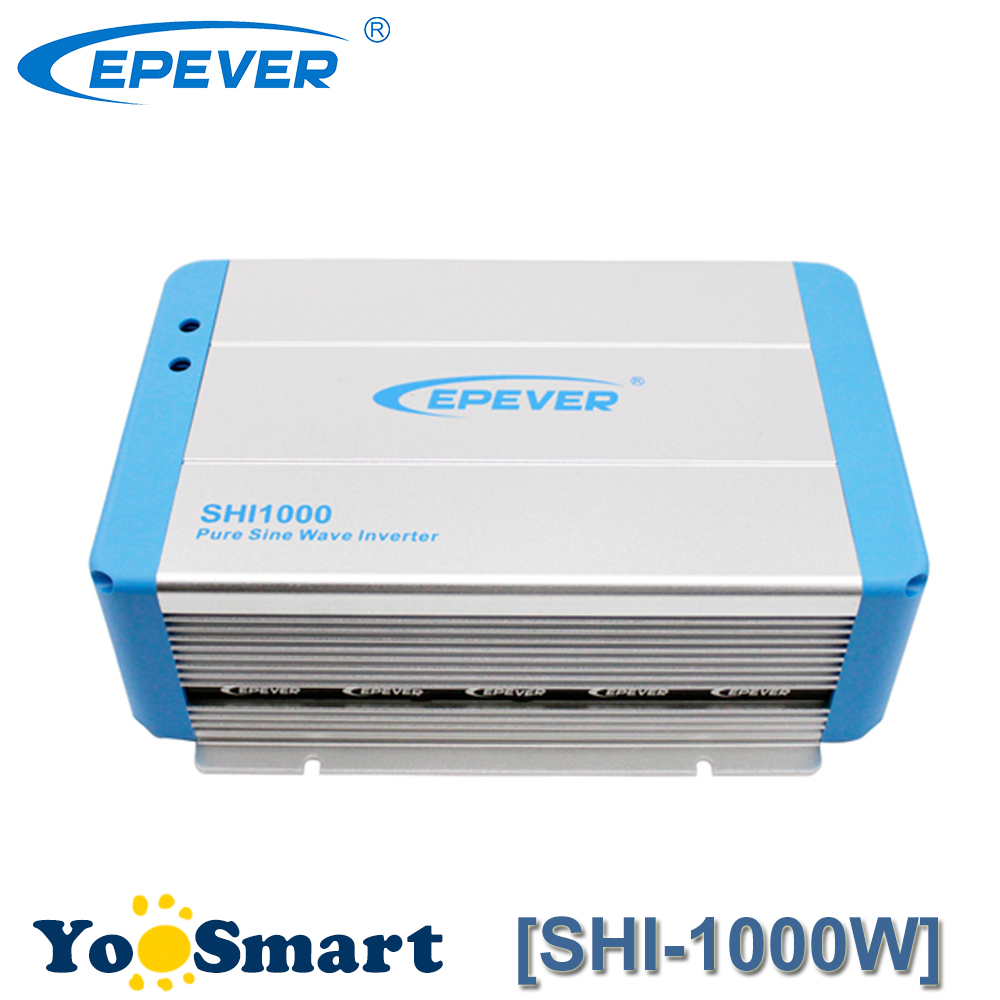 600W EPever Pure Sine Wave Inverter 12VDC to 220VAC Solar Power Inverter600W EPever Pure Sine Wave Inverter 12VDC to 220VAC Solar Power Inverter
