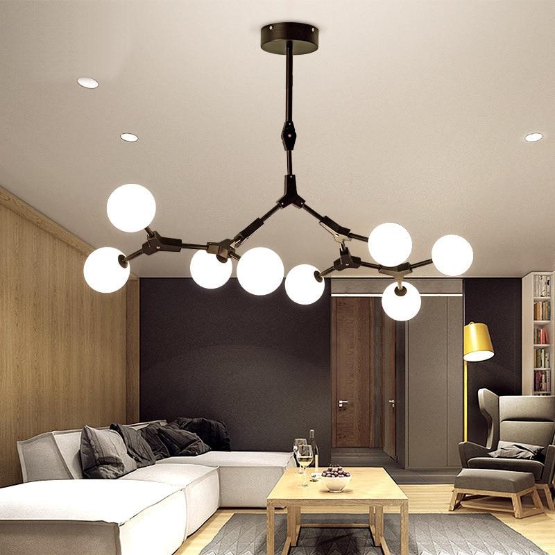 Luminaires pour salle à manger nordique  lustres en style moderne  lampe suspendue pour salon  luminaires pour loft  luminaires en fer|Lampes à suspension| |  -