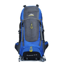 70L Hot Sale Outdoor Multi-function Backpack High Quality Polyester Mountaineering Bag Waterproof Unisex Climbing Bags Rucksack
