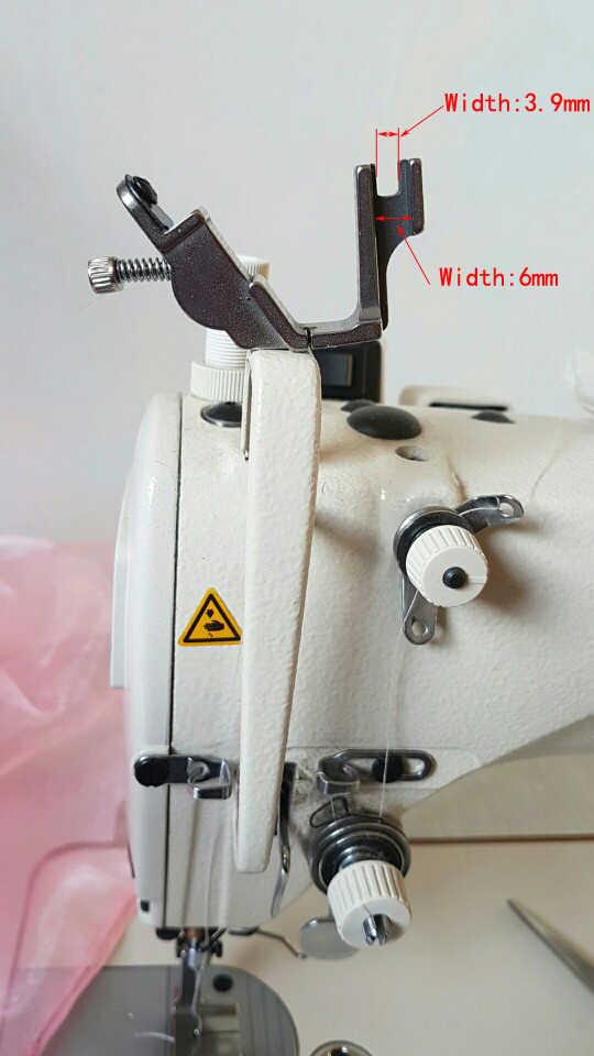Elastico Shirring Piedino, S537, Industriale (Computerizzata) di Parti di Macchine Da Cucire A Punto Annodato, Acciaio Inox, per Juki, Fratello, ZOJE, JACK...