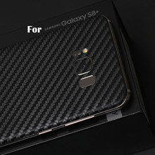 S8 S8 + Карбон зерна сзади фильм защитная крышка наклейки для Samsung Galaxy S8 плюс цвет назад фильм Пастер декоративные пленка