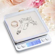 3000g/0.1g Portable Mini Electronic Digital Scales Pocket Case Postal Kitchen Jewelry Weight Balance Digital Scale new portable milligram digital scale 30g x 0 001g electronic scale diamond jewelry pocket scale home kitchen