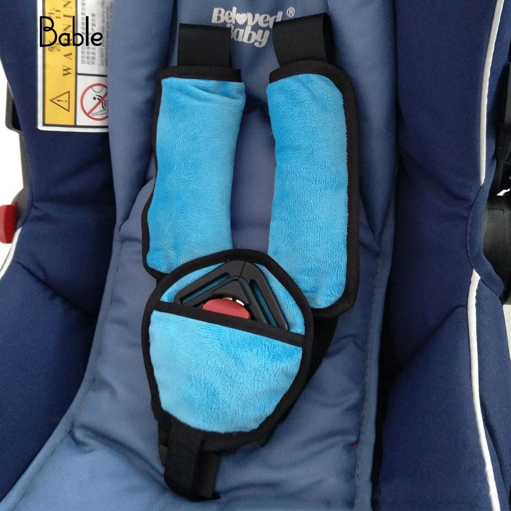 Baby Kids Stroller Car Seat Vehicle Safety Shoulder Strap Cover Protection