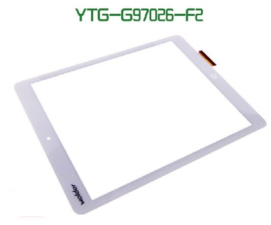 black/white New Touch panel 9.7 Tablet YTG-G97026-F2 V1.0 touch screen LCD digitizer Sensor Glass Replacement Free Shipping 1 pcs for iphone 4s lcd display touch screen digitizer glass frame white black color free shipping free tools