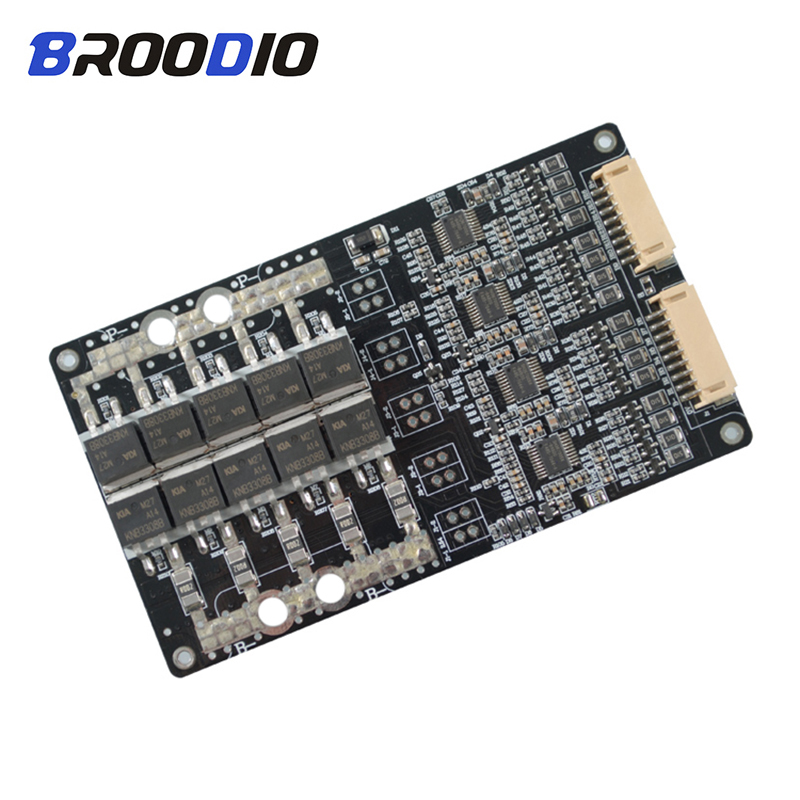 10S 12S 13S 14S 16S BMS 30A 40A 50A 60A 100A 48V 60V 18650 Li-ion Lithium Battery Protection Board BMS 10S Circuit With Balanced