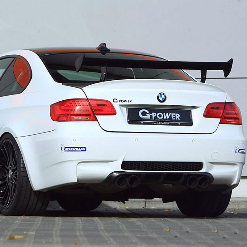 For <font><b>BMW</b></font> M3 <font><b>Spoiler</b></font> E92 E46 Car Tail Wing Decoration <font><b>GTS</b></font> Style 100% Carbon Fiber Universal Rear Trunk <font><b>Spoiler</b></font> image