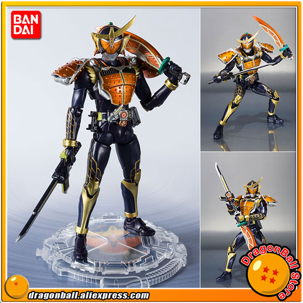 Original BANDAI SPIRITS S.H. Figuarts / SHF Action FIGURE Kamen Rider GAIM เกราะสีส้ม 20 Kamen Rider เตะ Ver.