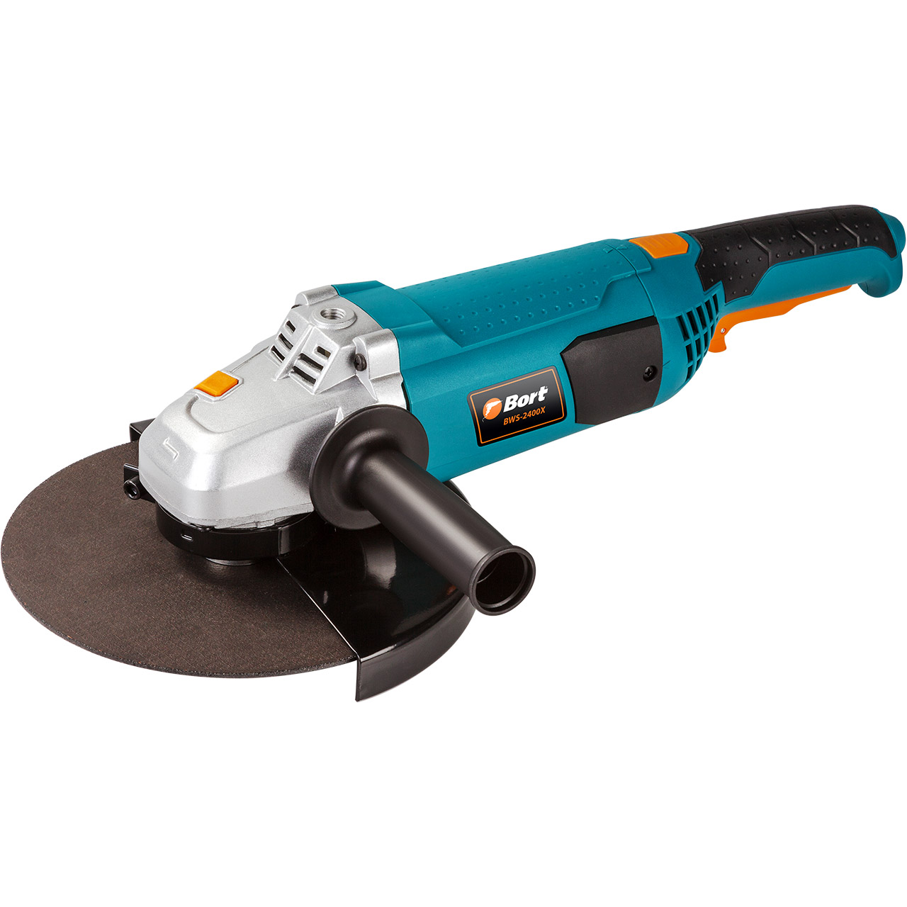BORT Angle Grinder bulgarian USHM Grinding machine Electric grinder Angle Grinder grinding Power or cutting metal portable Woods Steel Power Tool Warranty BWS-2400X цена и фото