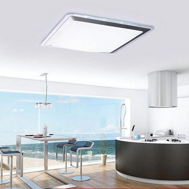 Arcrylic led deckenleuchte lampe wohnzimmer licht moderne restaurant ...