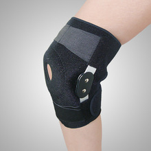 Guard Breathable Knee Protector Professional Sports Safety Support Brace Stabilizer With Adjustable Hinged Pad