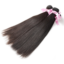 Prom Queen Peruvian Straight Human Hair Weave Bundles 100% Remy Hair Can Be Dyed Bleached Salon Bundle Hair 3 Bundles/lot