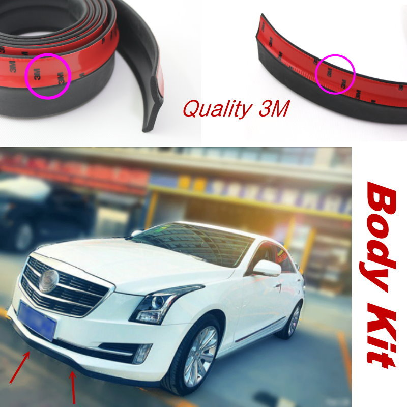 Car Body Front Side Back Bumper Spoilers Lip Lips For Cadillac Catera Escalade GTM 800 900 K2X / Body Chassis Side Protection