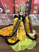 Collectible Chinese Girl Dolls Traditional Oriental BJD Doll With 12 Joints Movable Empress Wu Zetian Series Birthday Gifts