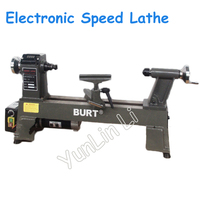 220V 550W Electronic Speed Regulating Lathe Small Cast Iron Woodworking Lathe Digital Display Woodworking Lathe MC1218VD