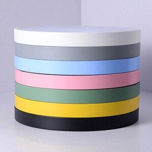 Image 5 - Creativo ultra sottile 5cm Macaron colore LED plafoniera moderna rotonda telecomando lampada camera da letto Foyer Hotel lampada a montaggio superficiale