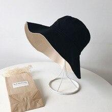 Однотонные шляпы-ведерки для мужчин и женщин, наружная летняя уличная Кепка в стиле хип-хоп, хлопковая шляпа для танцоров, Панама, город, летняя пляжная шляпа от солнца F2