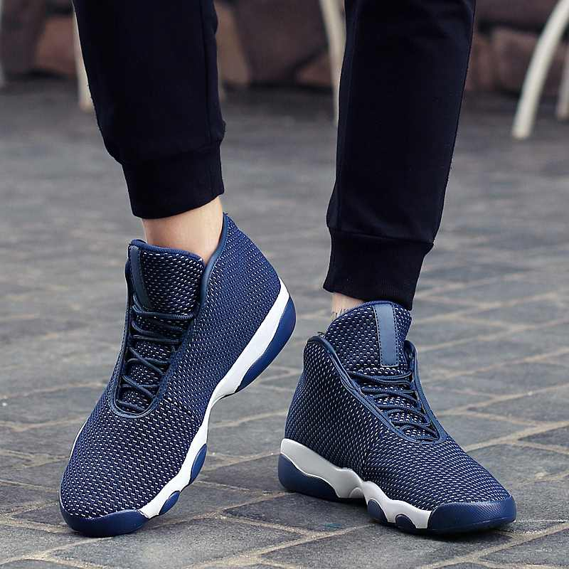 Weweya Men Basketball Shoes Sport 2019 Training Sneakers High Quality Basketball Boots Outdoor Boy Athletic Shoe Breathable Cool