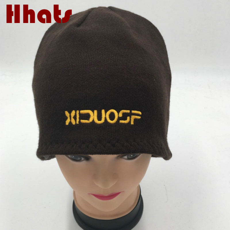 Which in shower knitted thick warm men cap beanie male fleece reversible winter hat cap slouch turban outdoor sports skullies 2016 fashin reversible skullies