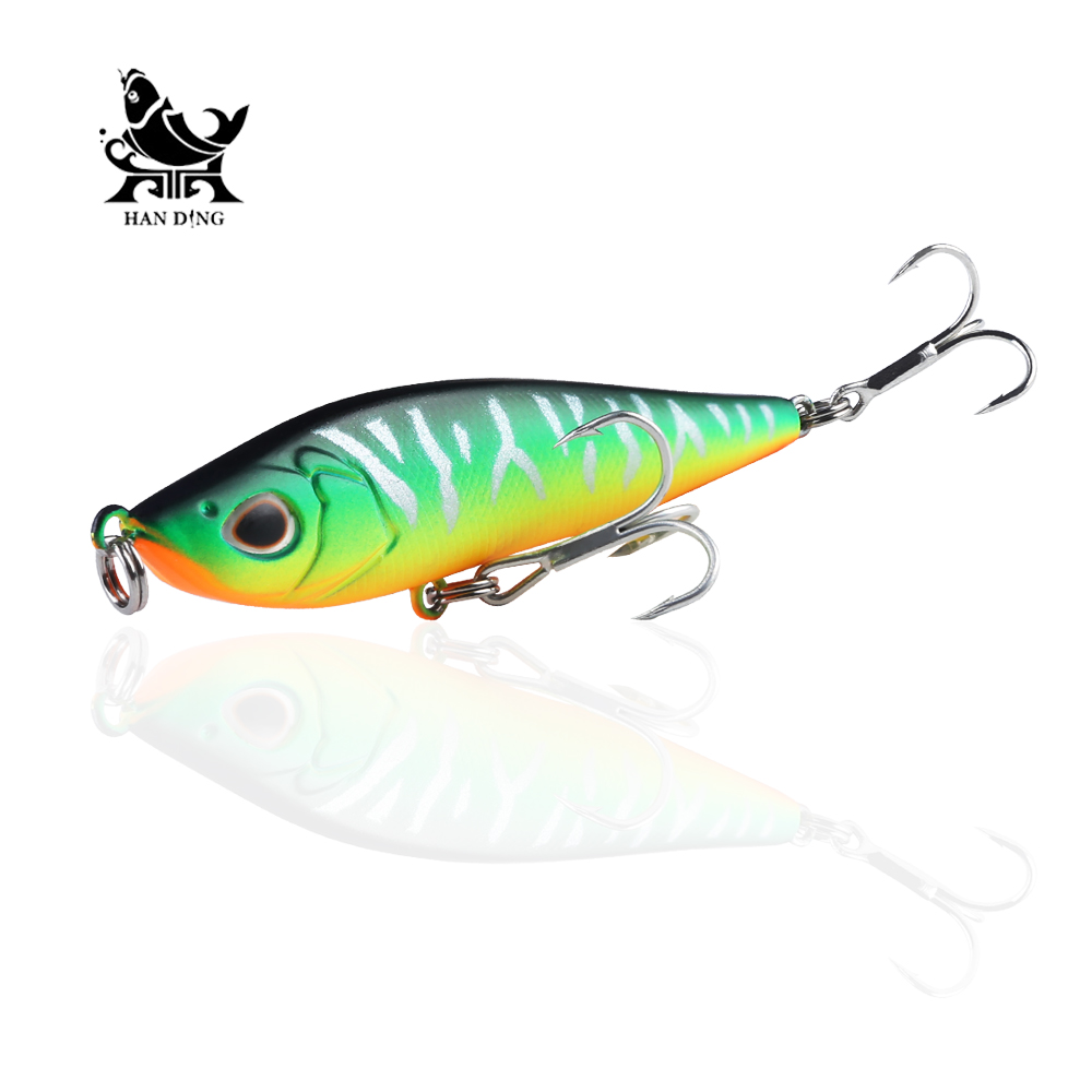 Joincool 85mm 16g stick Fishing wobblers hard lure Artificial Bait long casting New model Fishing Lures sinking carp fishing