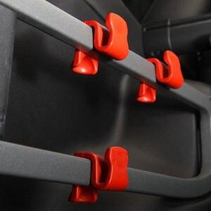 4 шт. автомобильный внутренний грузовой задний багажник задний крюк вешалка держатель Органайзер для Jeep Cherokee 2014 2015 2016