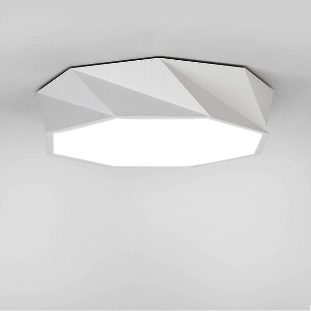 Modern opbouw plafondlamp LED panel Wit/Zwart voor badkamer ...