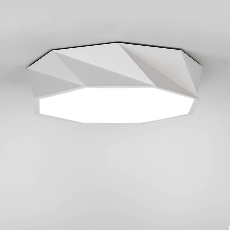 Modern surface mounted ceiling lamp LED panel White/Black for bathroom lighting AC110-240V luminarias para