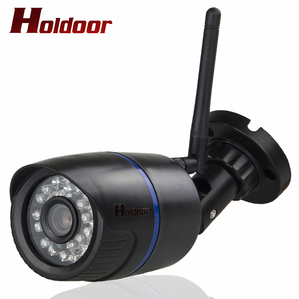 720P ip camera wifi 1280x720P Wireless Waterproof ip65 onvif cctv system security mini surveillance cam HD Camera With SD Slot wifi ipc 720p 1280 720p household camera onvif with allbrand camera free shipping