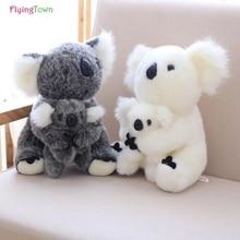 цена на Australia koala plush toy  animal koala doll cute animal stuffed soft doll mom hold kids koala toy high qualityf or kids toys