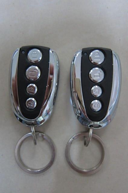 Système d'alarme de voiture télécommandé bras à distance serrure de porte centrale automatique avec capteur de choc - 6