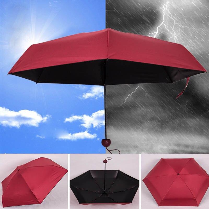 Memokey Mini Capsule Women Umbrella Clear Pocket Anti UV Umbrella Windproof Folding Umbrellas Compact Rain Children Umbrellas F in Umbrellas from Home Garden