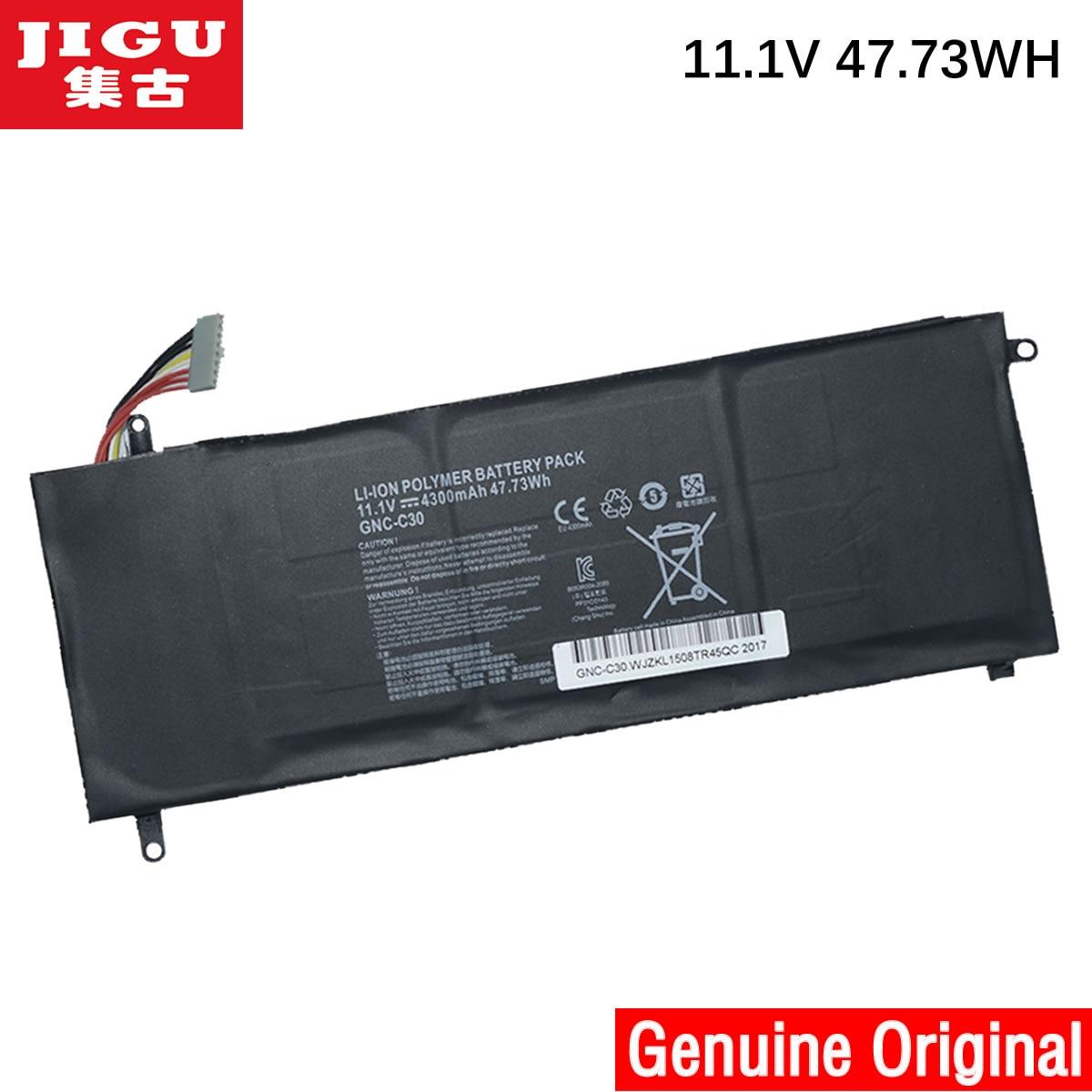 JIGU SCHENKER 961TA002F GNC-C30 Original Laptop Battery XMG C404 FOR GIGABYTE P34G V1 v2 U24 U2442 U2442D U2442F U2442N U2442S цены