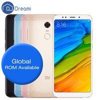 Original Dreami Xiaomi Redmi 5 Plus Redmi5 Plus 4GB RAM 64GB ROM Mobile Phone Snapdragon 625