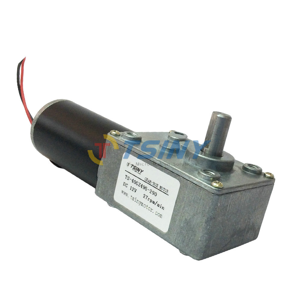 Electric 12Vdc Reversible 27rpm DC Worm Geared Motor With Gear Reducer Motor with Self-locking брюки домашние cleo cleo mp002xw13xsg