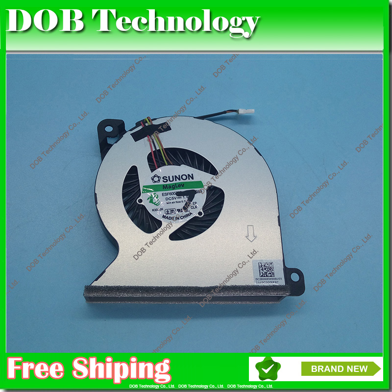 Original for HP ProBook 450 G2 455 440 445 G1 470 767433-001 cpu cooling fan MF60070V1-C350-S9A цены онлайн