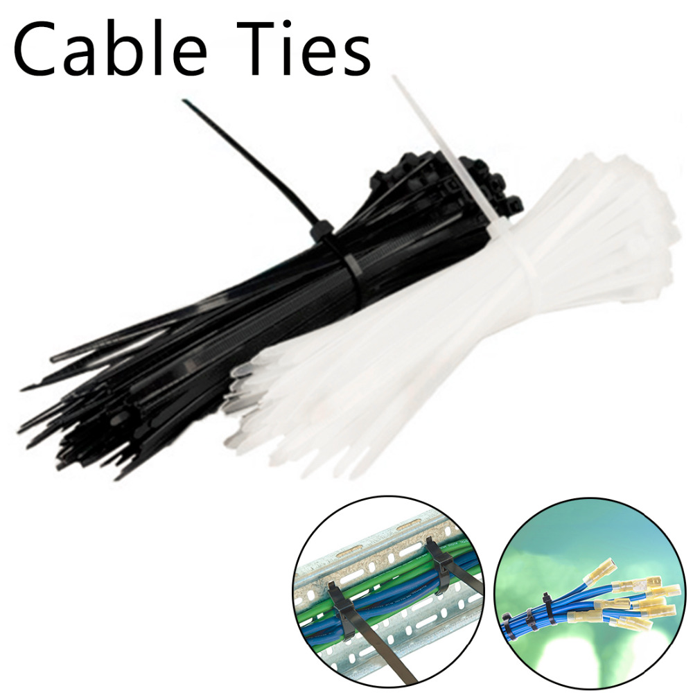 500pcs 32mm x 32mm 1.25 In Cable Wire Tie Square Mount Clamp Pad Self Adhesive