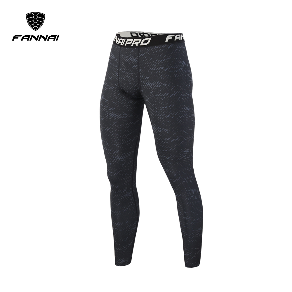FANNAI Brand Clothing 2017 Apparel Male Compression Tights Pants Trousers Sweatpants In Stock Free shipping